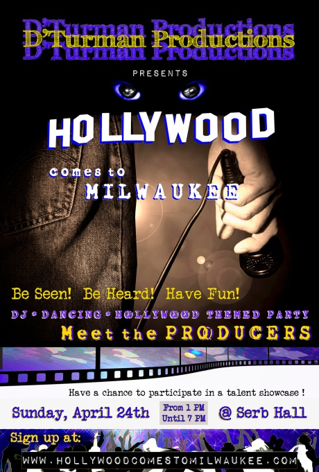 Hollywood poster D'TurmanProd PrelimAudREV3 15x10_3