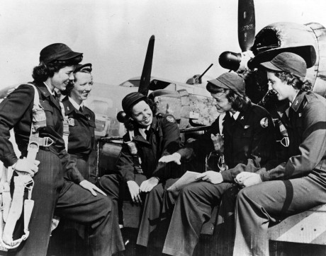 After entering World War II, two female aviator units were formed and more than 1,000 women participated as civilians attached to the U.S. Army Air Forces. In August 1943, they merged into a single group, forming the Women Airforce Service Pilots program. One year later, the WASPs were disbanded due to political pressures and the increasing availability of male pilots. (U.S. Air Force courtesy photo)